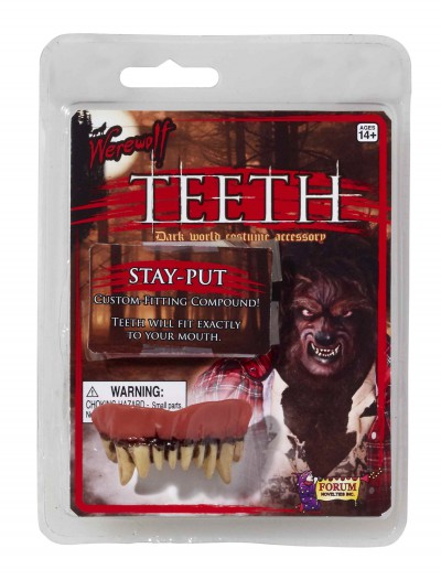 Werewolf Teeth, halloween costume (Werewolf Teeth)