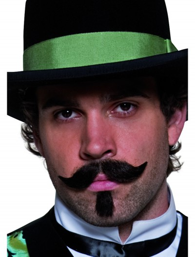 Western Gambler Moustache and Beard, halloween costume (Western Gambler Moustache and Beard)