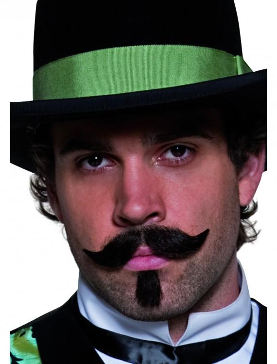 Western Gambler Moustache and Beard, halloween costume (Western Gambler Moustache and Beard)