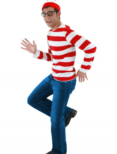 Where's Waldo Costume, halloween costume (Where's Waldo Costume)