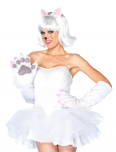 White Anime Paws, halloween costume (White Anime Paws)