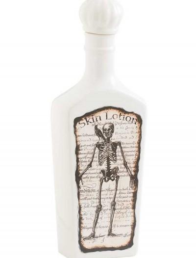 White Bottle with Skeleton, halloween costume (White Bottle with Skeleton)