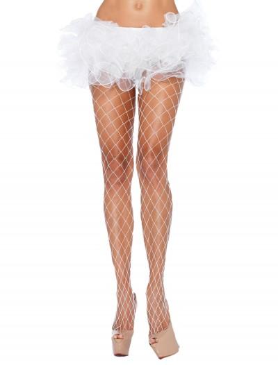 White Fence Net Pantyhose, halloween costume (White Fence Net Pantyhose)