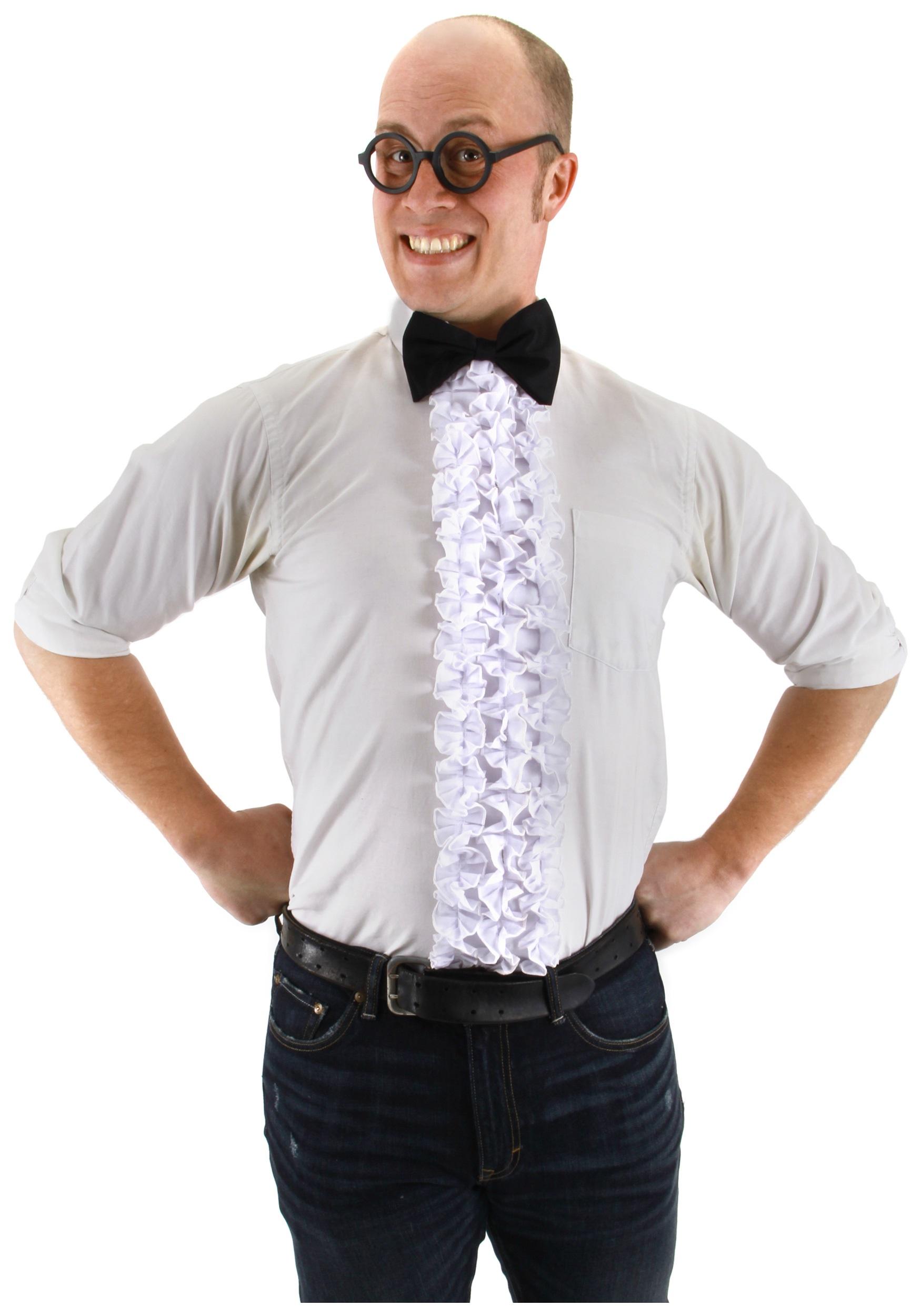 Как сшить манишку из рубашки 15