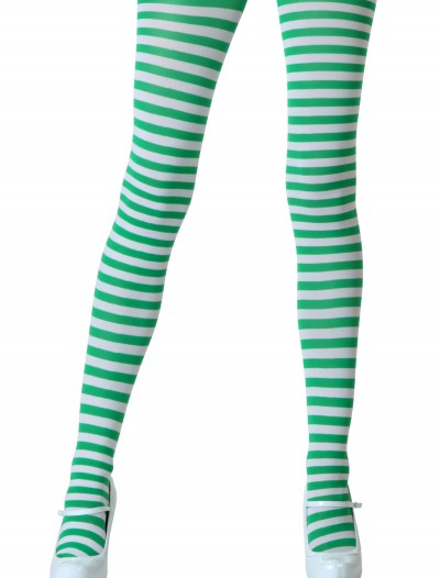 White / Kelly Green Tights, halloween costume (White / Kelly Green Tights)