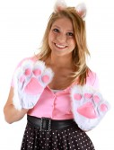 White Kitty Paws, halloween costume (White Kitty Paws)