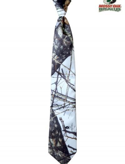 White Mossy Oak Pre-Tied Windsor Tie, halloween costume (White Mossy Oak Pre-Tied Windsor Tie)