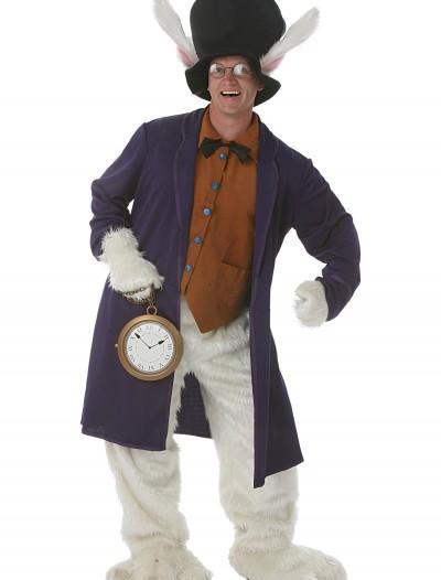 White Rabbit Adult Costume, halloween costume (White Rabbit Adult Costume)
