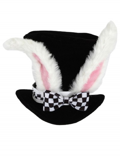 White Rabbit Adult Hat, halloween costume (White Rabbit Adult Hat)