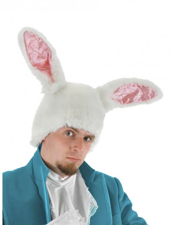 White Rabbit Ears Hat, halloween costume (White Rabbit Ears Hat)