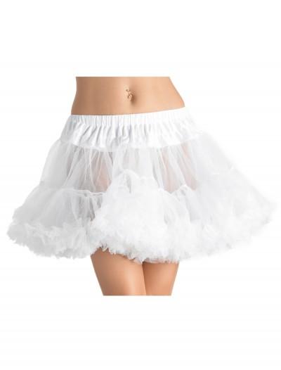 White Tulle Petticoat, halloween costume (White Tulle Petticoat)