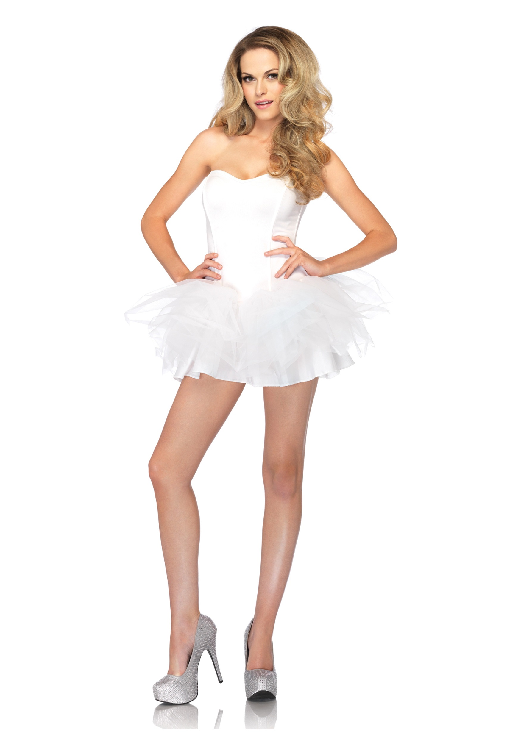 Cheap white tutu dress