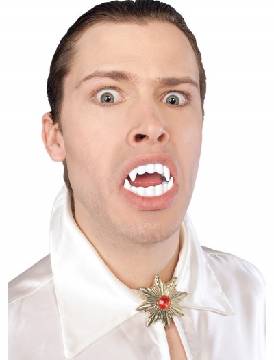 White Vampire Fangs, halloween costume (White Vampire Fangs)