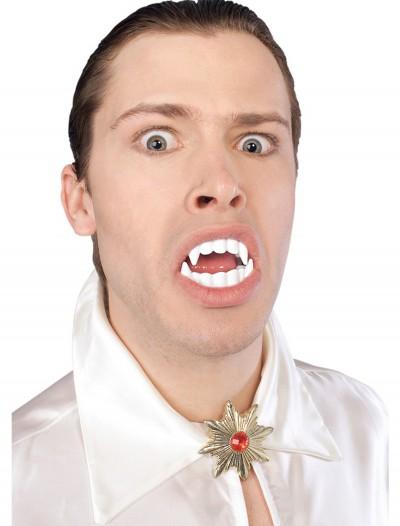 White Vampire Fangs, halloween costume (White Vampire Fangs)