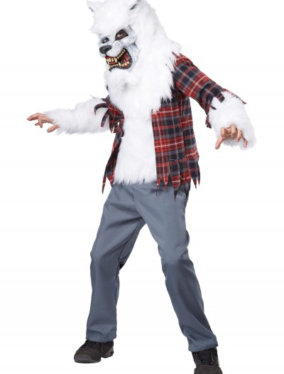 Child White Werewolf Costume, halloween costume (Child White Werewolf Costume)
