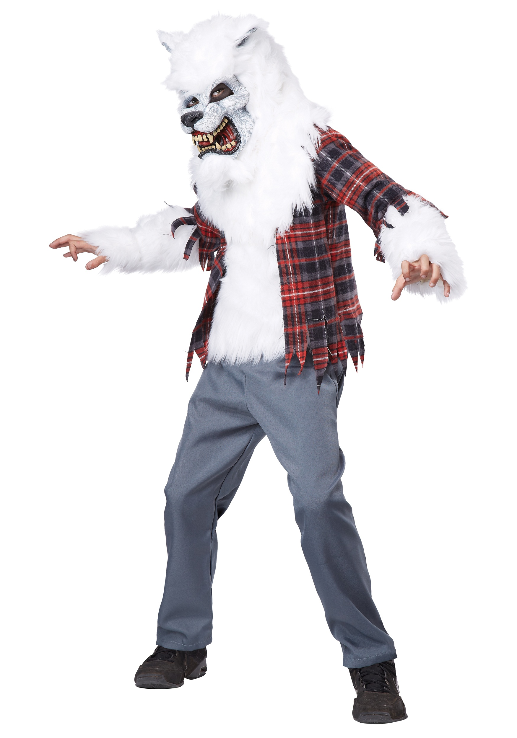 Child White Werewolf Costume  sc 1 st  Halloween Costumes & Child White Werewolf Costume - Halloween Costumes