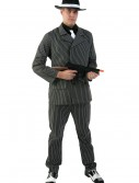 Wide Stripe Plus Size Gangster Costume, halloween costume (Wide Stripe Plus Size Gangster Costume)