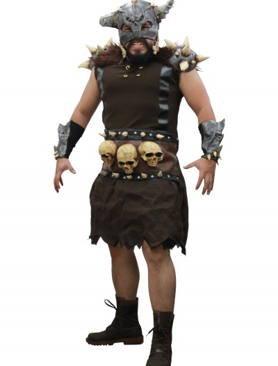 Wild Warrior Costume, halloween costume (Wild Warrior Costume)