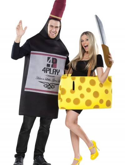 Wine and Cheese Costume, halloween costume (Wine and Cheese Costume)