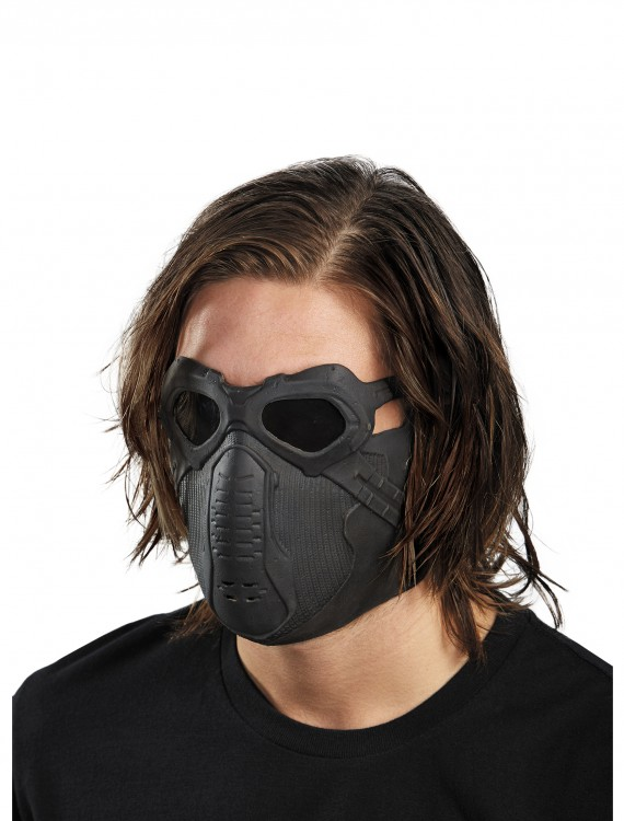 Winter Soldier Latex Mask, halloween costume (Winter Soldier Latex Mask)