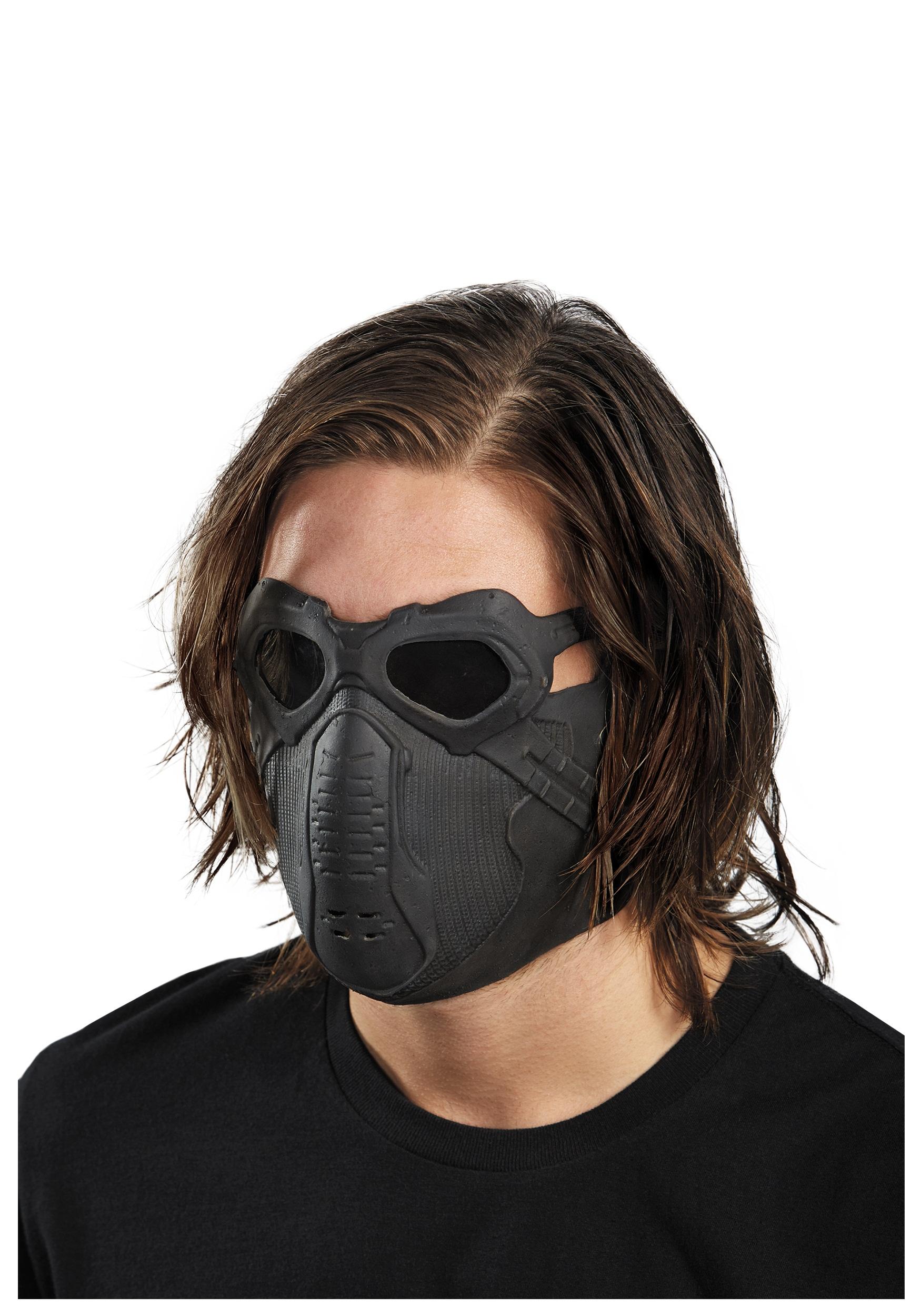 Как сделать маску зимнего солдата