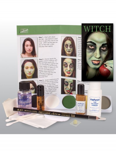Witch Makeup Kit, halloween costume (Witch Makeup Kit)