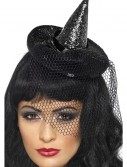 Witch Mini Glitter Top Hat, halloween costume (Witch Mini Glitter Top Hat)