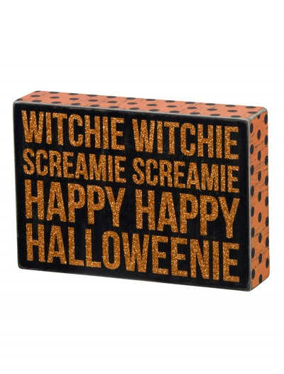 Witchie Witchie Sign, halloween costume (Witchie Witchie Sign)