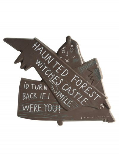 Wizard of Oz Haunted Forest Sign, halloween costume (Wizard of Oz Haunted Forest Sign)