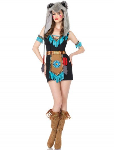 Wolf Warrior Adult Costume, halloween costume (Wolf Warrior Adult Costume)