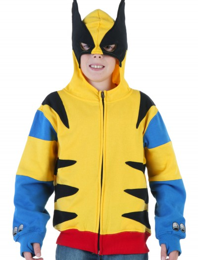 Youth Wolverine Hoodie, halloween costume (Youth Wolverine Hoodie)