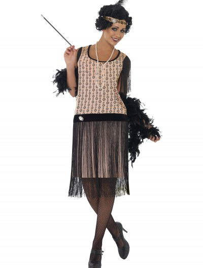 Women's 1920s Coco Flapper Costume, halloween costume (Women's 1920s Coco Flapper Costume)