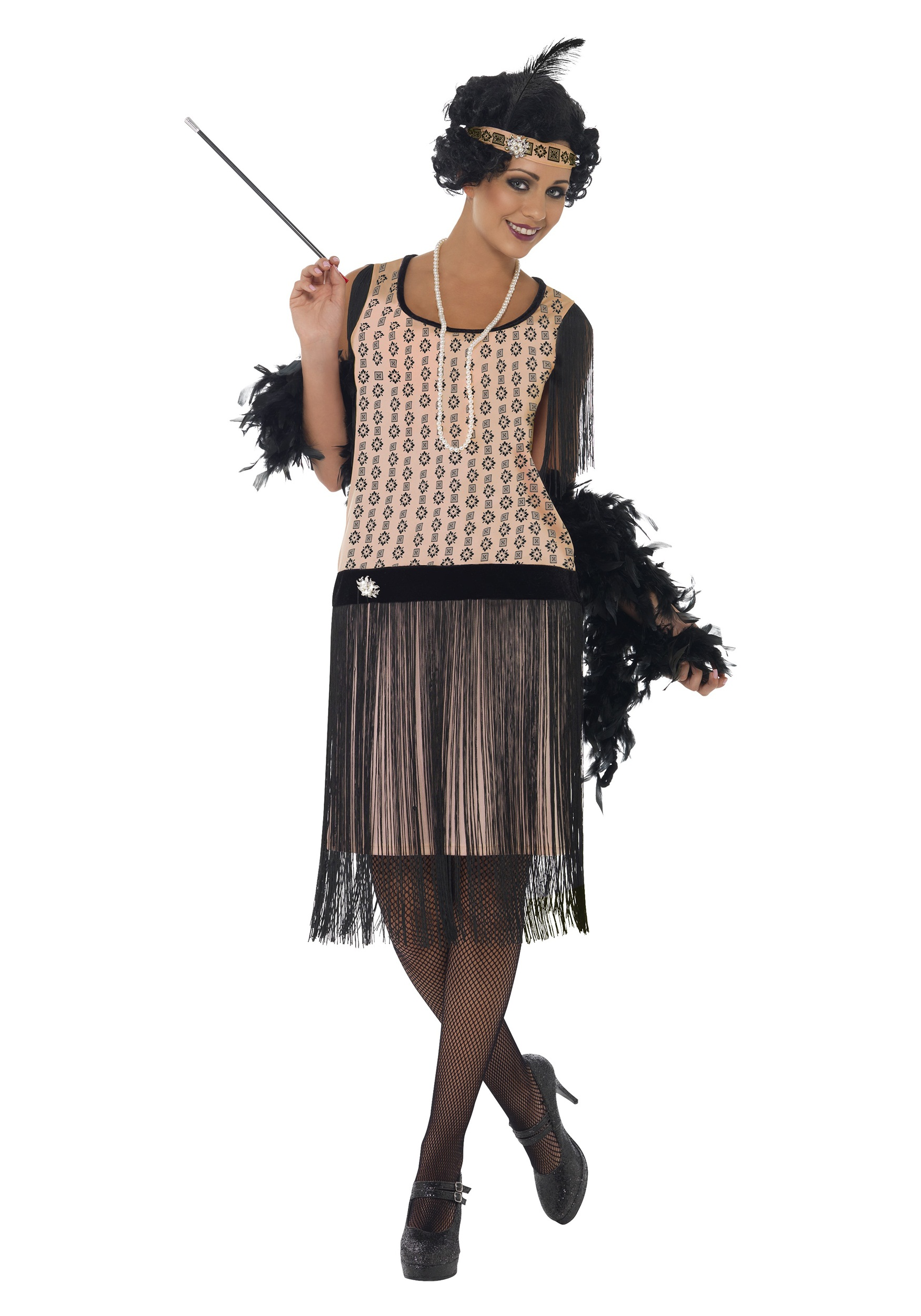 womens 1920s coco flapper costume