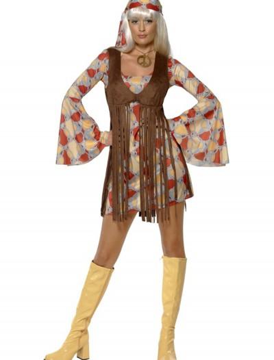 Womens 1960s Groovy Baby Costume, halloween costume (Womens 1960s Groovy Baby Costume)