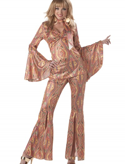 Women's 1970s Disco Costume, halloween costume (Women's 1970s Disco Costume)