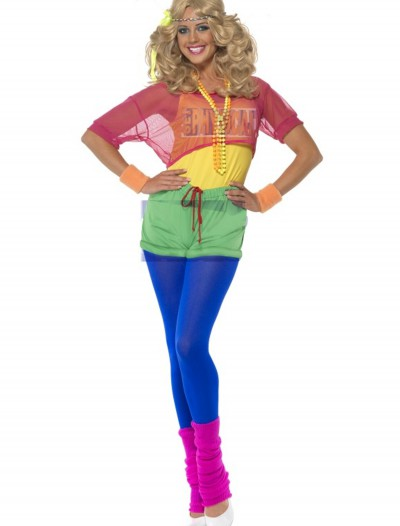 Womens 80s Lets Get Physical Costume, halloween costume (Womens 80s Lets Get Physical Costume)