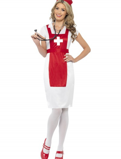 Womens A & E Nurse Costume, halloween costume (Womens A & E Nurse Costume)