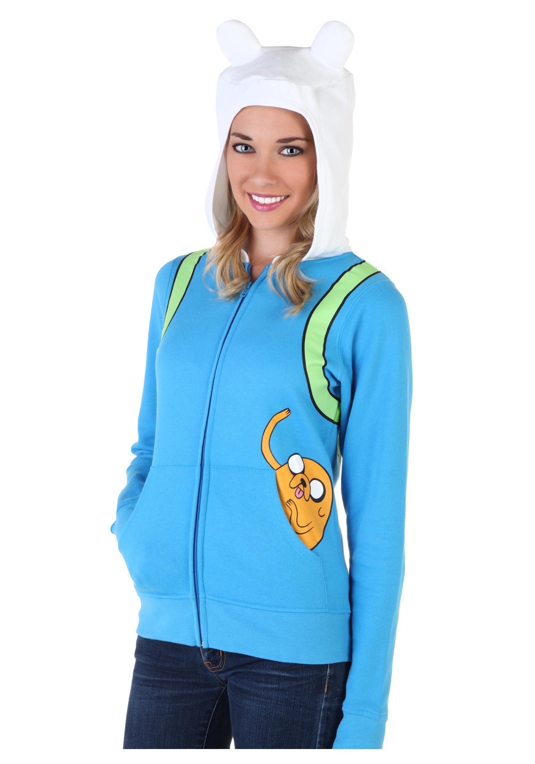Womenu0027s Adventure Time Jake Pocket Hoodie  sc 1 st  Halloween Costumes & Womenu0027s Adventure Time Jake Pocket Hoodie - Halloween Costumes