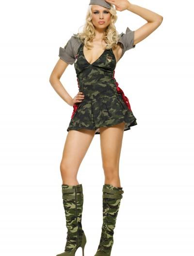 Women's Army Cadet Costume, halloween costume (Women's Army Cadet Costume)