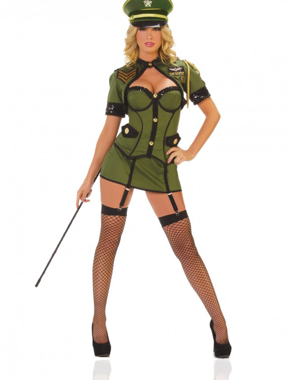 Womens Army General Costume, halloween costume (Womens Army General Costume)