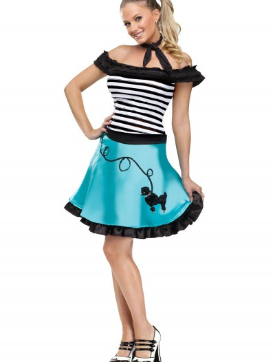 Women's At The Hop Honey Costume, halloween costume (Women's At The Hop Honey Costume)