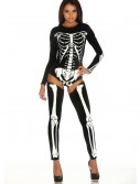 Womens Bad to the Bone Costume, halloween costume (Womens Bad to the Bone Costume)