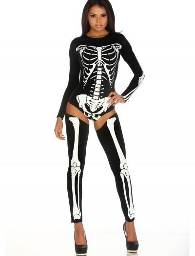 Womens Bad to the Bone Costume, halloween costume (Womens Bad to the Bone Costume)