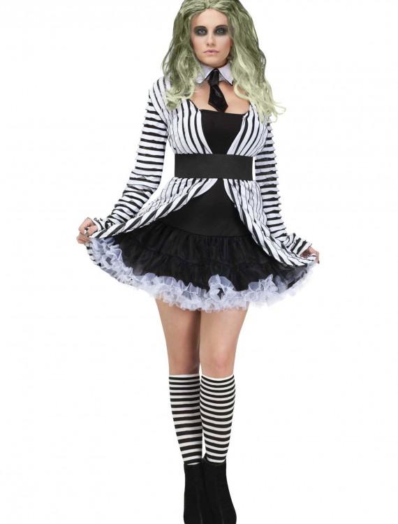 Womens Beetlegeuse Baby Costume, halloween costume (Womens Beetlegeuse Baby Costume)