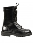 Womens Black Combat Boots, halloween costume (Womens Black Combat Boots)