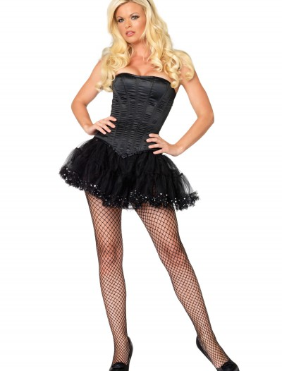 Women's Black Corset, halloween costume (Women's Black Corset)