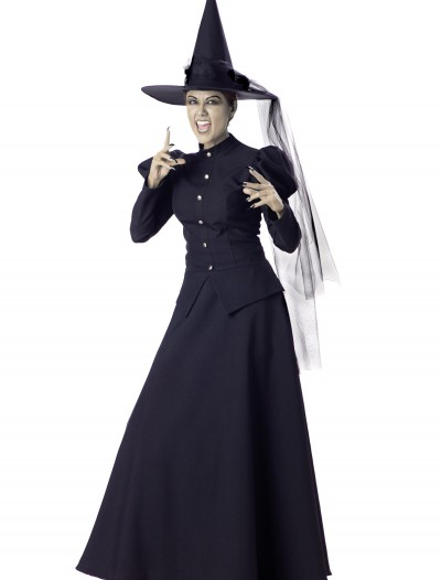 Women's Black Witch Costume, halloween costume (Women's Black Witch Costume)