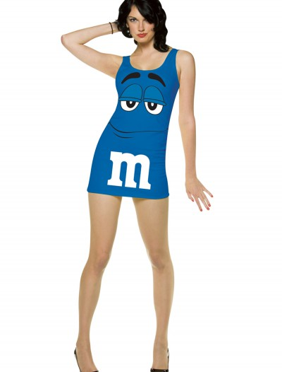 Womens Blue M&M Costume, halloween costume (Womens Blue M&M Costume)
