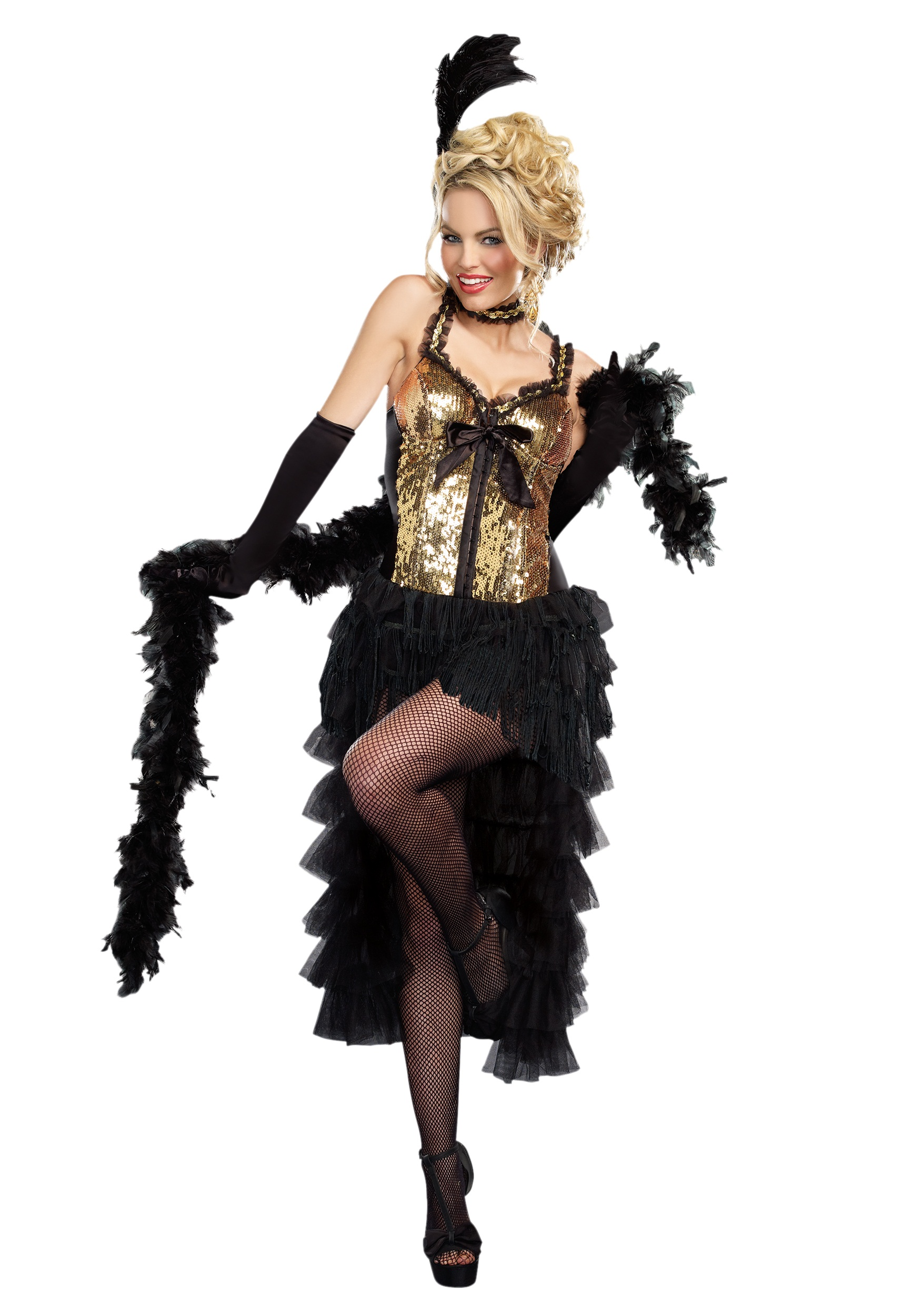 womens burlesque bombshell costume