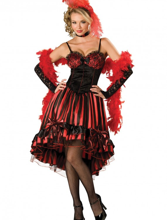 Women's Can Can Costume, halloween costume (Women's Can Can Costume)